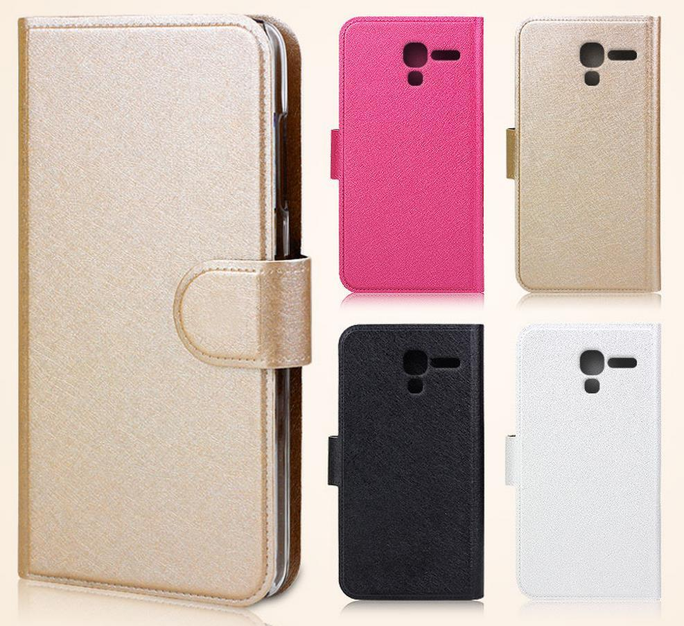 Alcatel One Touch POP D3 PU Leather Flip Case Cover Casing