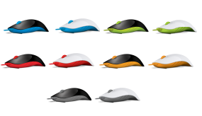 ALCATROZ MOUSE WIRED OPTICAL USB SHARK AMBIDEXTROUS MANY COLOR