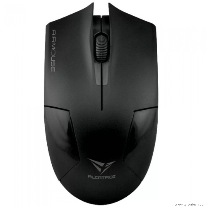 ALCATROZ OPTICAL WIRELESS AIR MOUSE BLACK