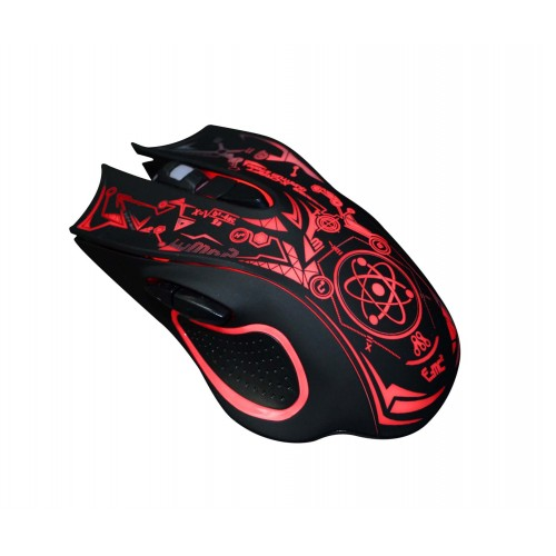 ALCATROZ WIRED OPTICAL USB GAMING MOUSE (X-CRAFT QUANTUM Z7000)