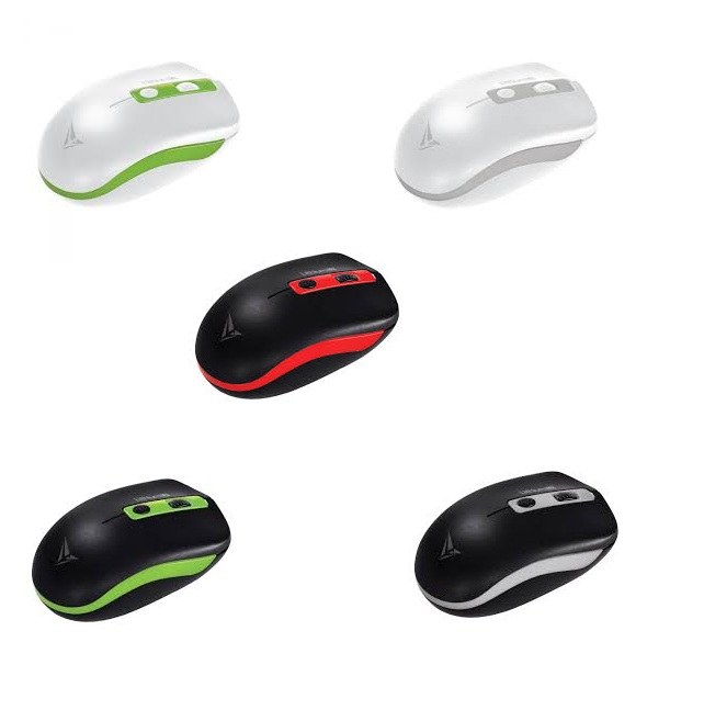 ALCATROZ WIRELESS OPTICAL MOUSE (LITHIUM L2) MANY COLOR