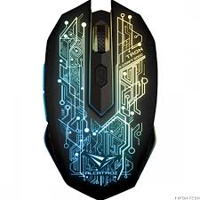 ALCATROZ WIRELESS OPTICAL MOUSE (X-CRAFT AIR TRON 5000)