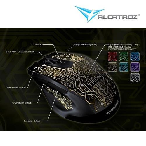 dc6a723c1b7 Alcatroz X-Craft Tron 5000 Gaming M (end 5/19/2018 11:15 AM)