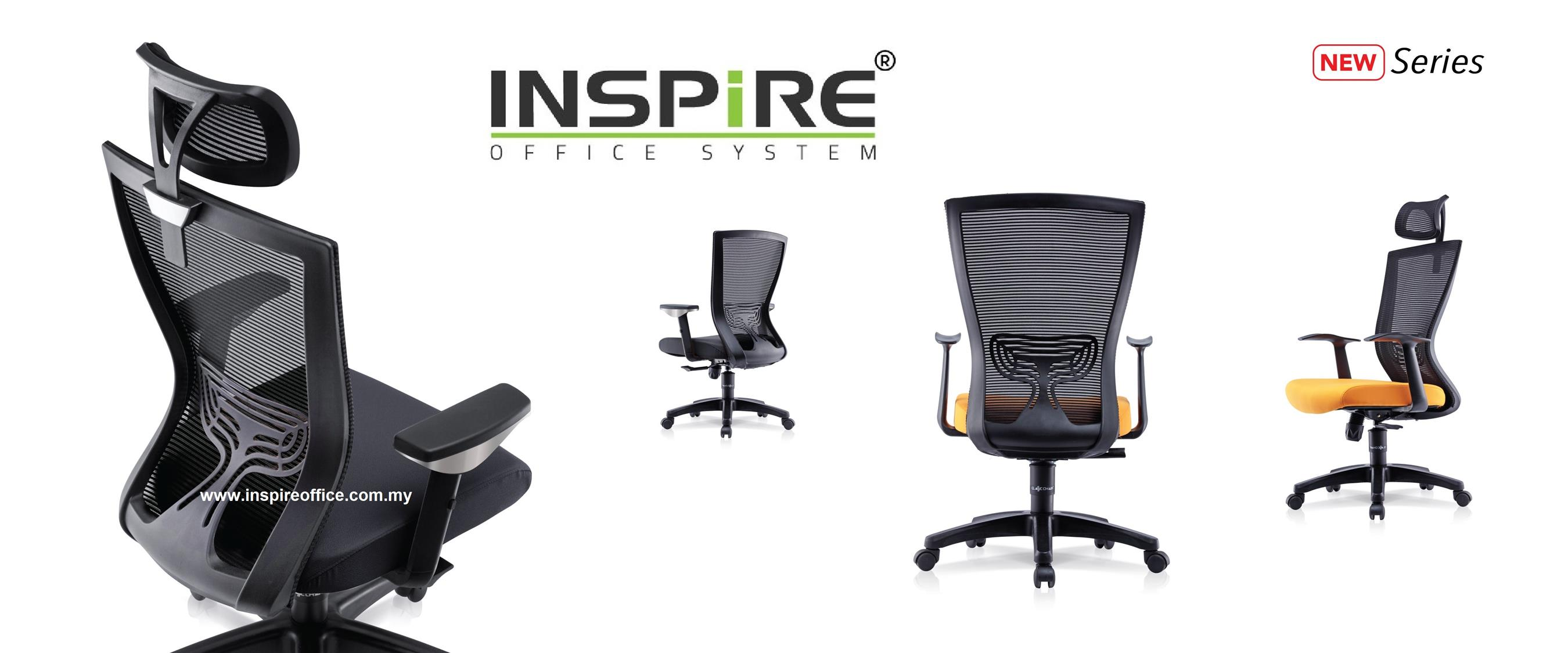 ALCHE INS-2M Medium Back Mesh Office Chair