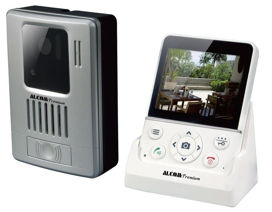 ALCOM PREMIUM WIRELESS DIGITAL VIDEO DOORBELL (ADB3219)
