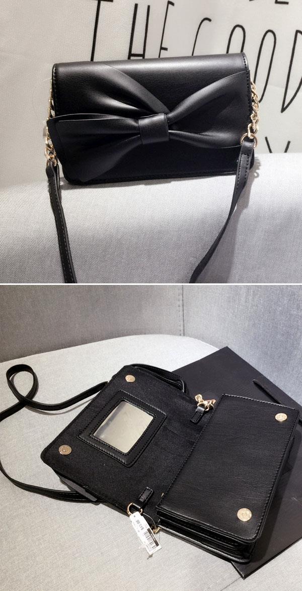 eca9854d376 ALDO Bow-Detailed Crossbody Bag (BL (end 11 11 2017 3 15 PM)