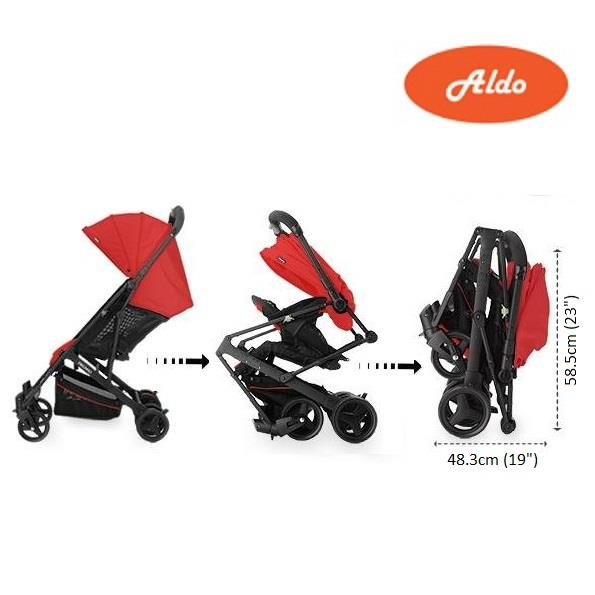 Aldo Starlite Compact Stroller for Newborn up to 36 months