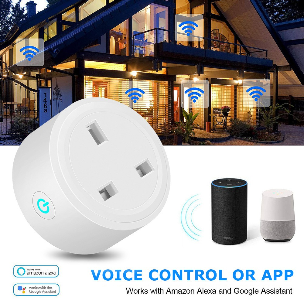 Alexa Wifi Mobile Phone Smart Timer Swit - [16A ENERGY MONITORIN,1PCS]