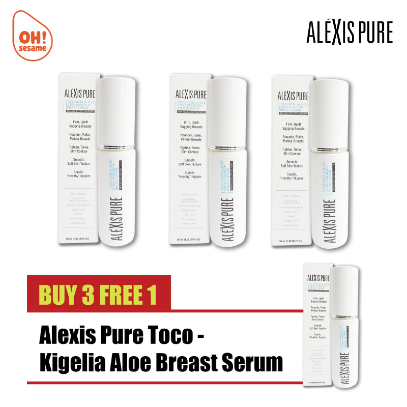 Alexis Pure Toco-Kigelia Aloe Breast Serum- Breast Firming (B3F1)