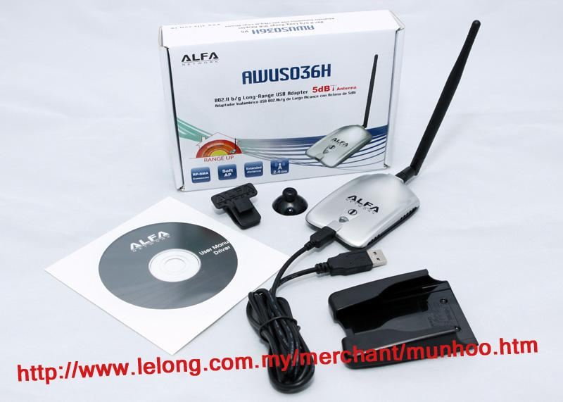 ALFA AWUSO36H DRIVERS DOWNLOAD