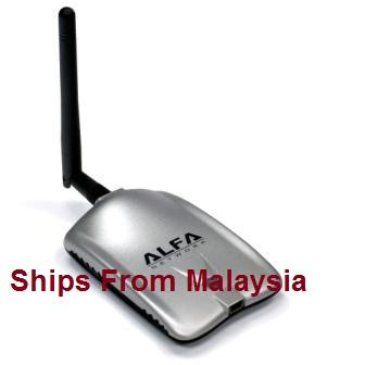 Alfa AWUS036H  USB Wireless Network 100% Di Jamin Tulen