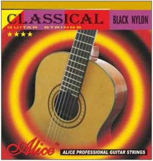 Alice A105BK-H Classical Black Nylon Guitar Strings