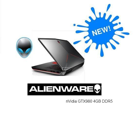 ALIENWARE A15FHD I7-4720HQ,8GB,1TB+256GB SSD,4GB GTX980M, 15 6 FHD