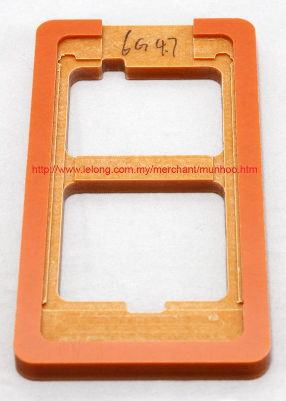 Alignment Mould for iPhone 6 Glass Repair/Replacement using LOCA UV