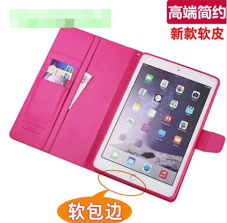 Alivo Apple iPad Air 2 Air2 Flip Card Slot Case Cover Casing + Free SP