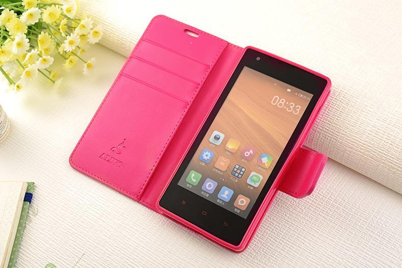 info for 76b6a 9e51c Alivo Xiaomi Redmi 1S 2 2A Flip Card Slot Case Cover Casing + Free Gif