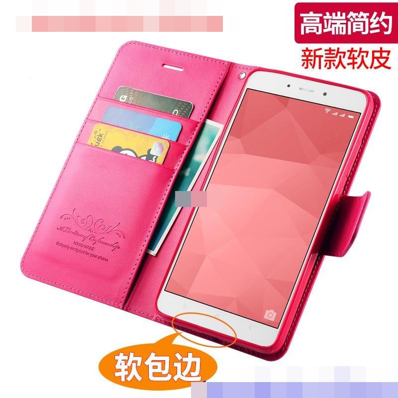 reputable site 3f196 dbb18 Alivo Xiaomi Redmi 5 / Plus Flip Card Slot Leather Case Cover Casing