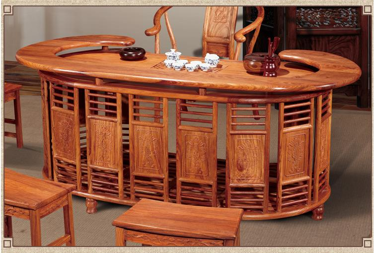 AllFurniture   Chinese Rosewood Furniture Coffee Table Kung Fu Tea