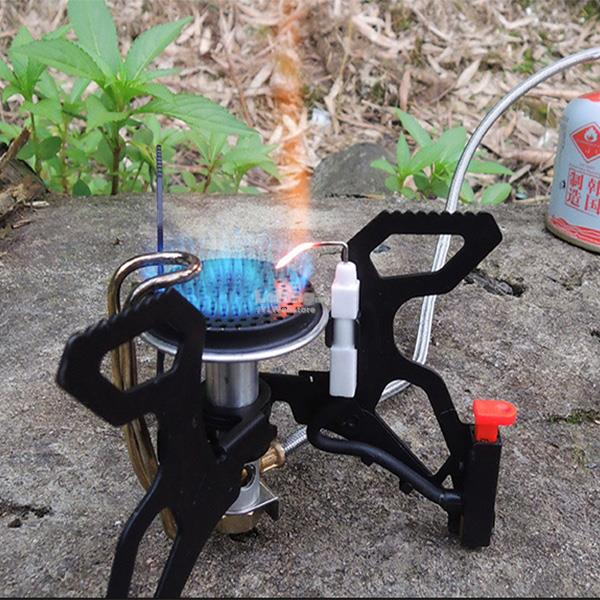 Alocs Camping Picnic Mini Stove BBQ Windproof Portable Burner Furnace
