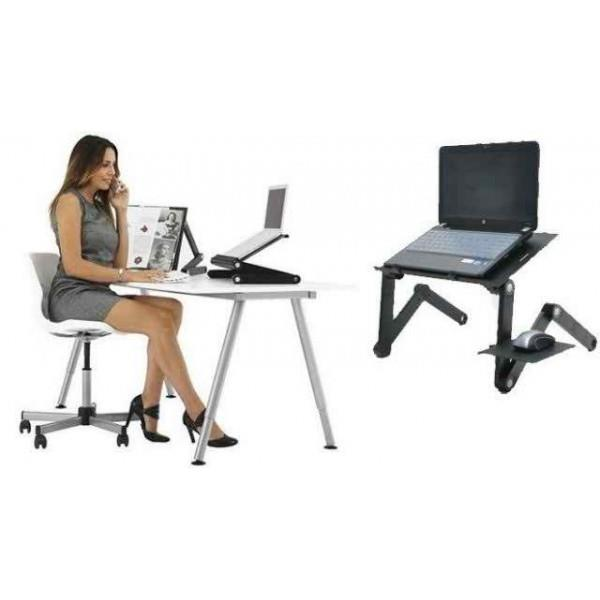 ALP Multifunctional Laptop Table Adjustable Portable Fast Delivery!