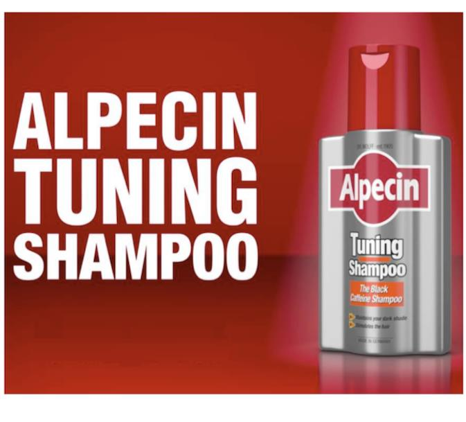 Alpecin Tuning Shampoo, The Dark Caffeine Shampoo (Hairloss, Botak)