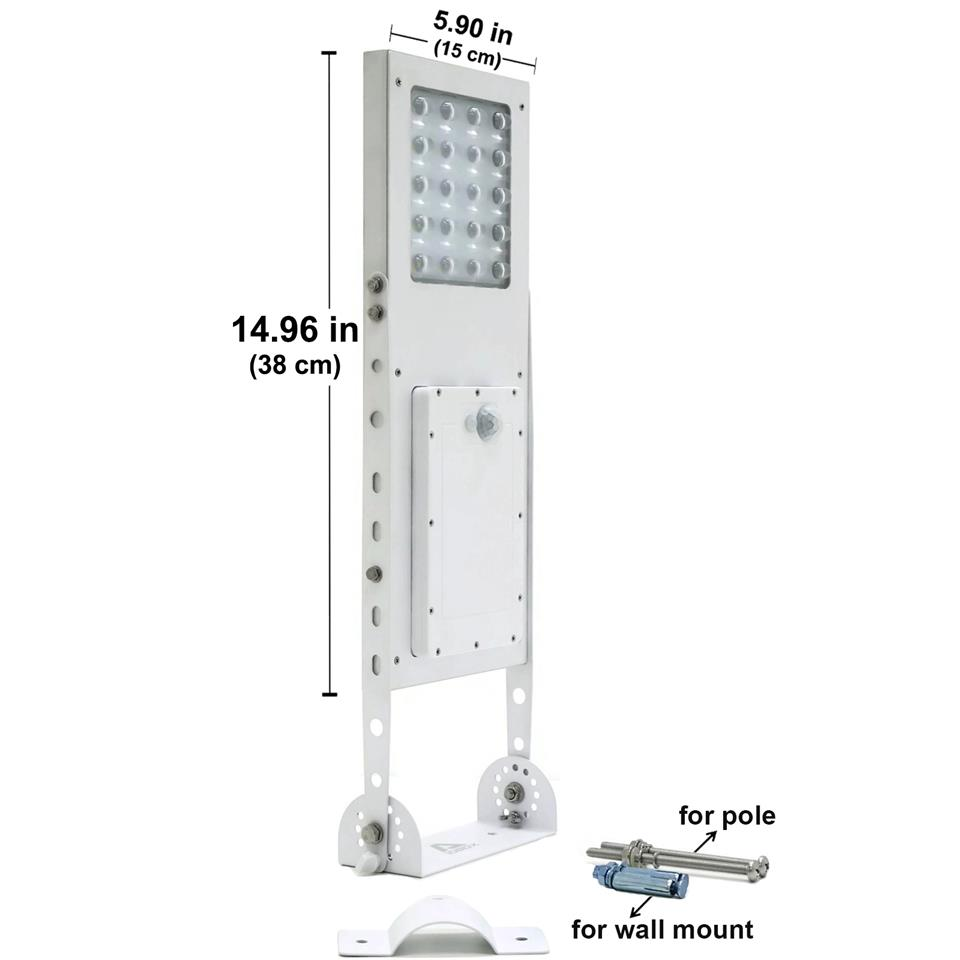 Alpha 1080X Solar Street Light