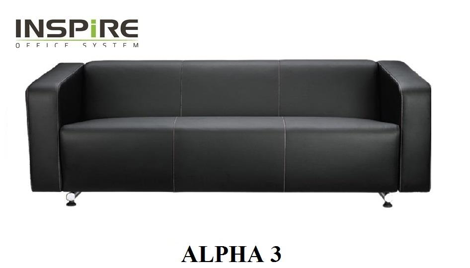 Alpha 3 Seater Sofa