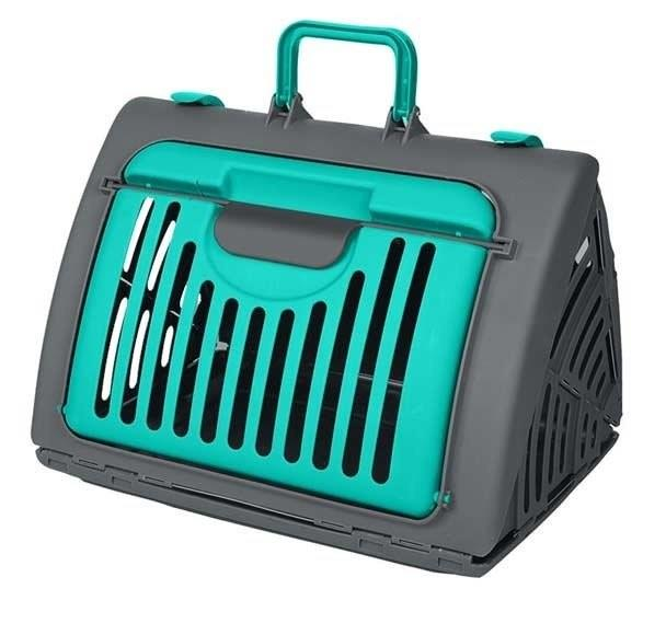 Alpha Living Portable Cat Carrier Cats Travel Cage (GDN0012GN)