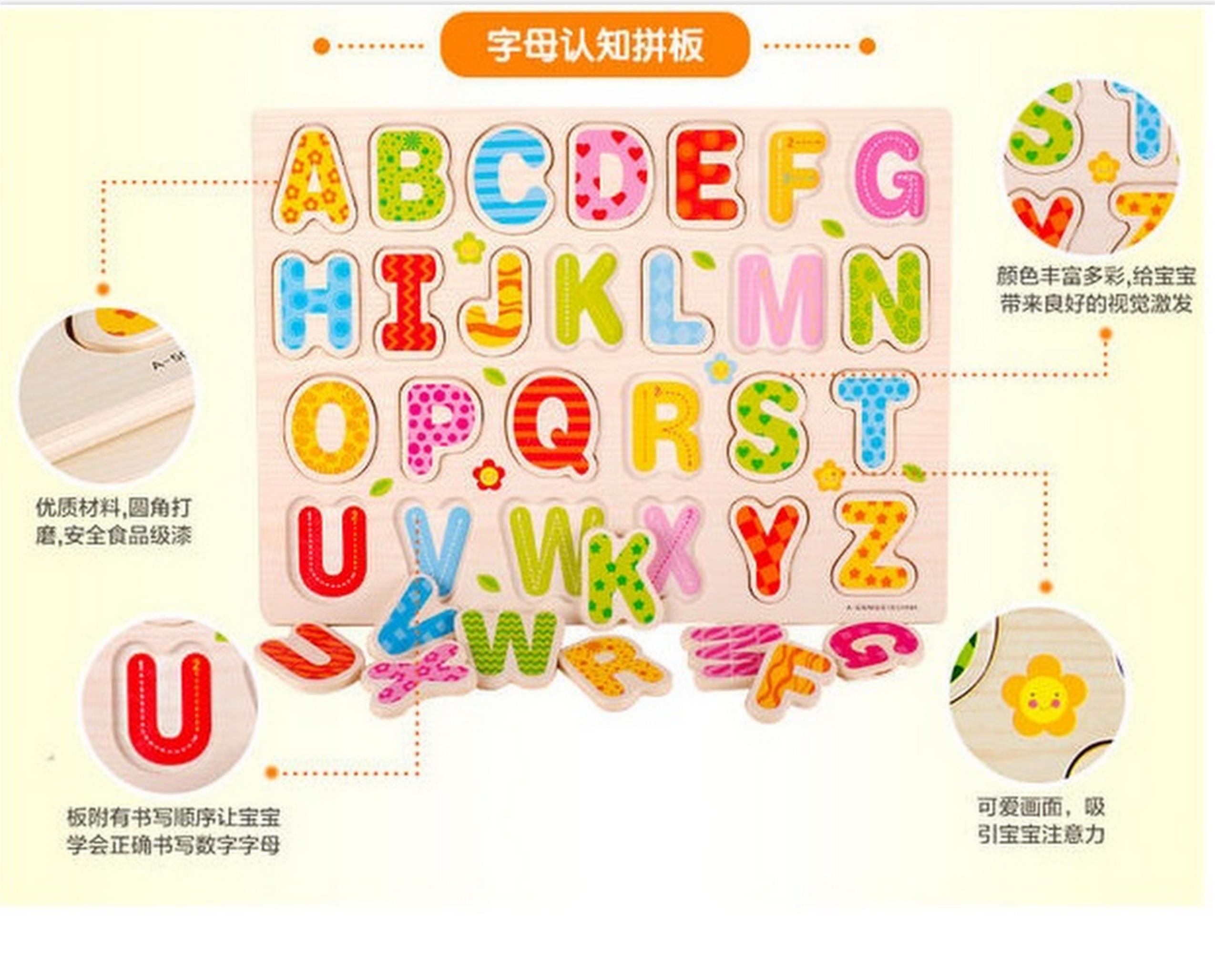 Alphabet ABC Puzzle Zabawki Pozostałe