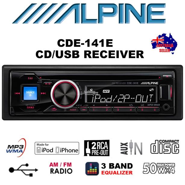alpine cde 141e cd usb receiver sold brozcarstore 1611 04 BROZCARSTORE@2 alpine cde 141e cd usb receiver sold (end 11 3 2017 2 15 pm) alpine cde 141 wiring diagram at eliteediting.co