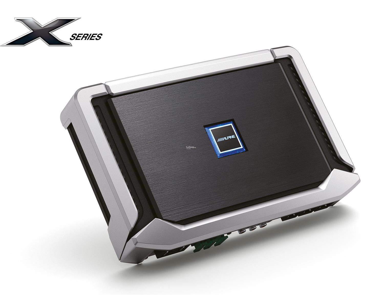 Alpine X-A70F X Series Class-D 4 Channel Amplifier 120W RMS x 4 at 4 o
