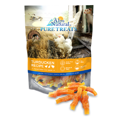 ALPS NATURAL PURE TREATS CHICKEN SWEET POTATO 100G