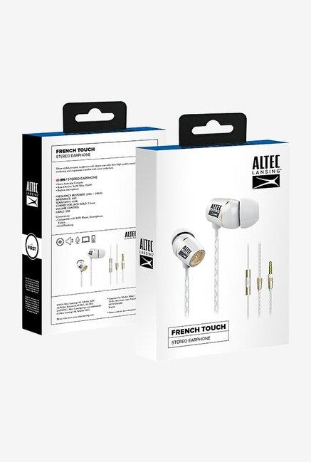 Alteclansing French Touch Earphone - Whte