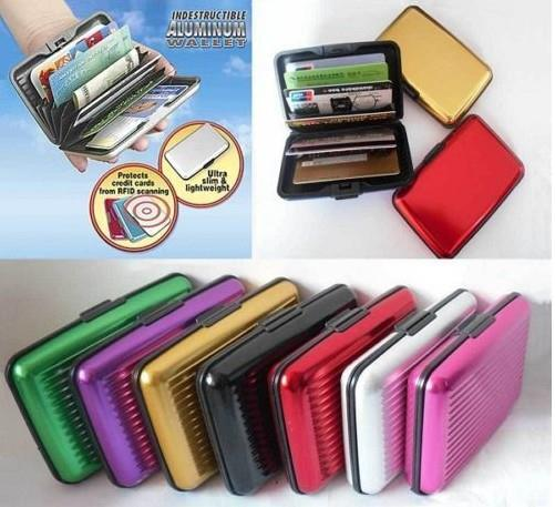 Aluma / Aluminium Portable Wallet,Credit Card,ID Holder+ FREE SHIPPING