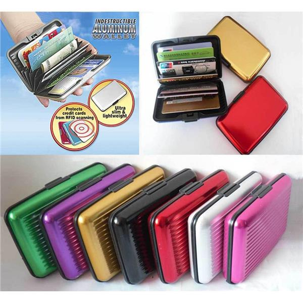 56cbf5d95047 Aluma Wallet Reliable Safe Aluminium Card ATM Holder Case
