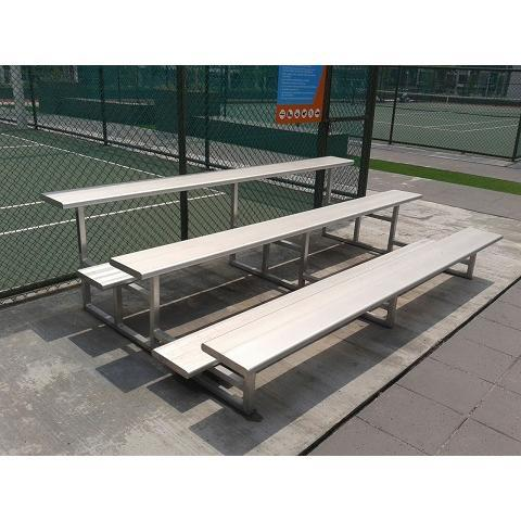 Aluminium 3 Row Bleacher 3m Length High Quality (Sportex)