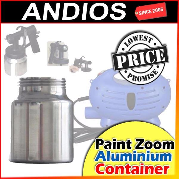 Aluminium Container-Paint Zoom_Paint Sprayer PRO_Tin Cat Rumah DIY