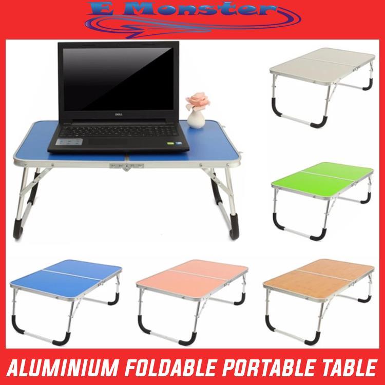 Aluminium Foldable Laptop Desk Portable Folding Computer Table