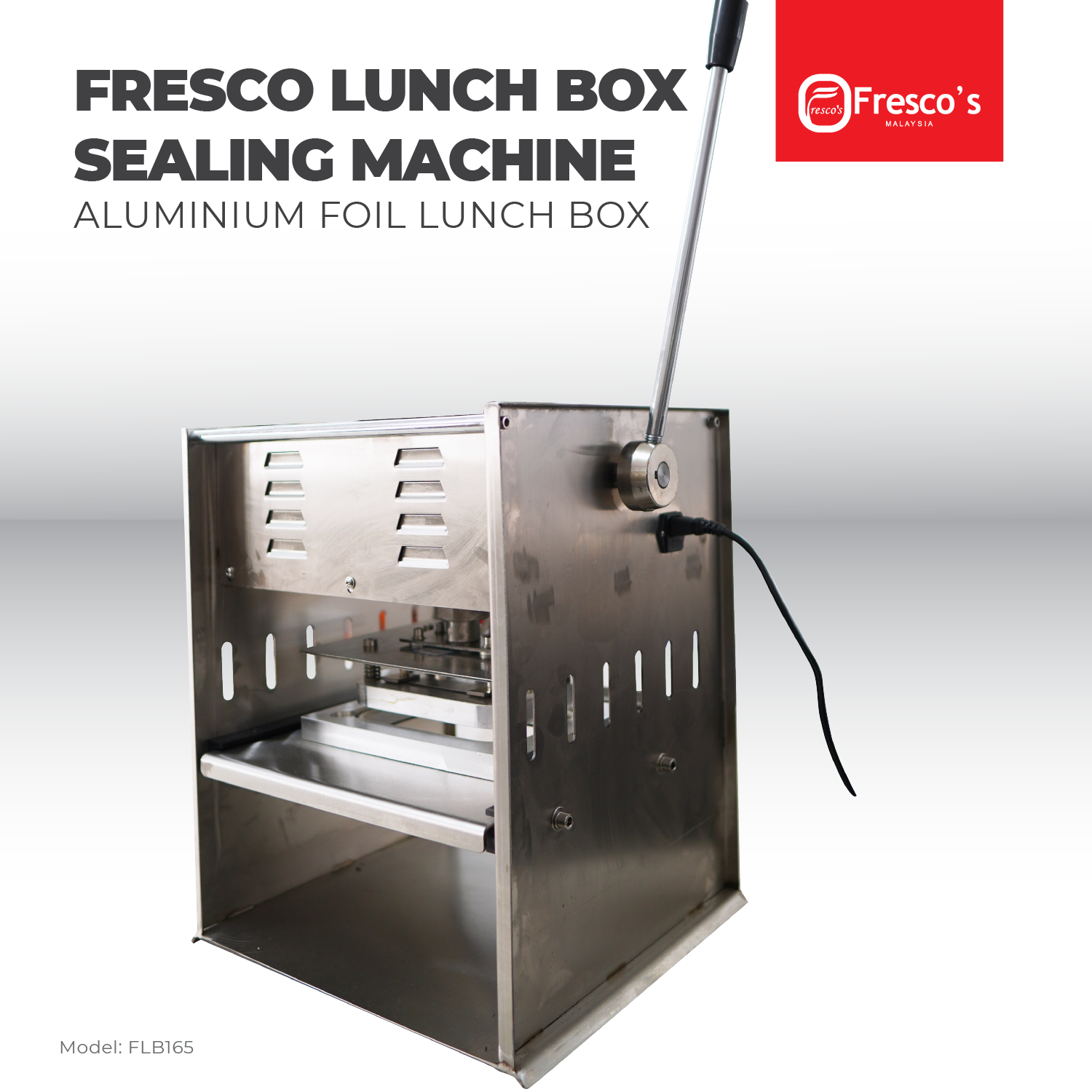 Aluminium Lunch Box Sealing Machine Semi Auto