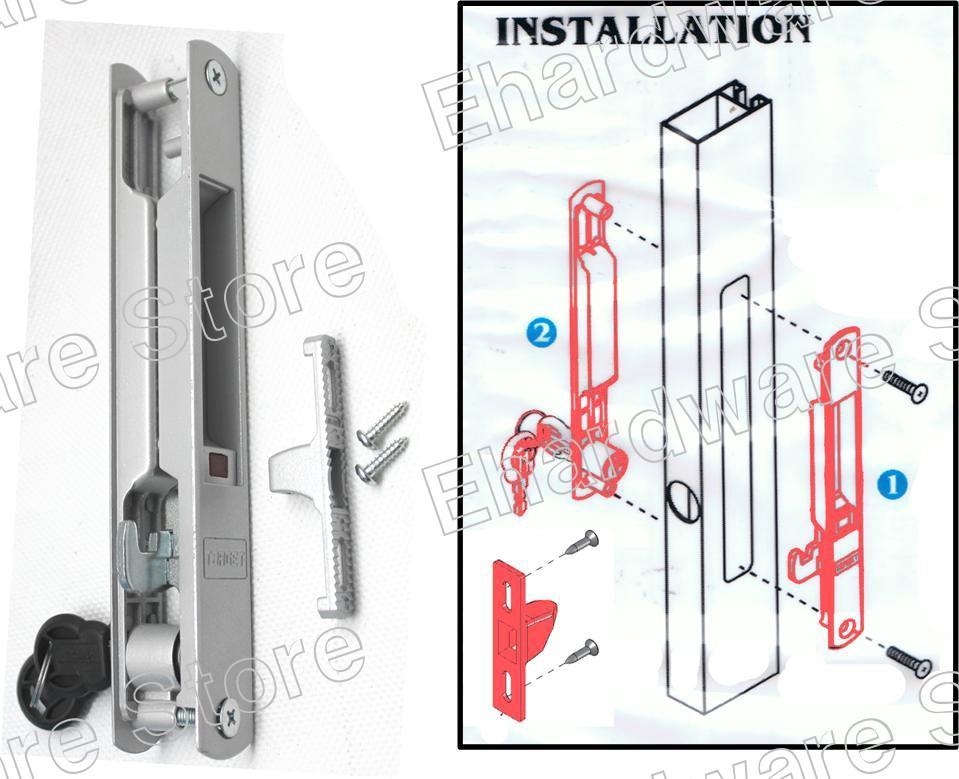 Aluminium Patio Glass Sliding Door F End 5312016 711 Am