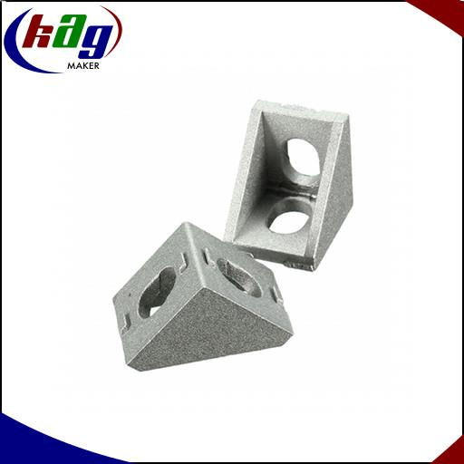 Aluminium Profile L-Bracket 17mm x 20mm For 2020