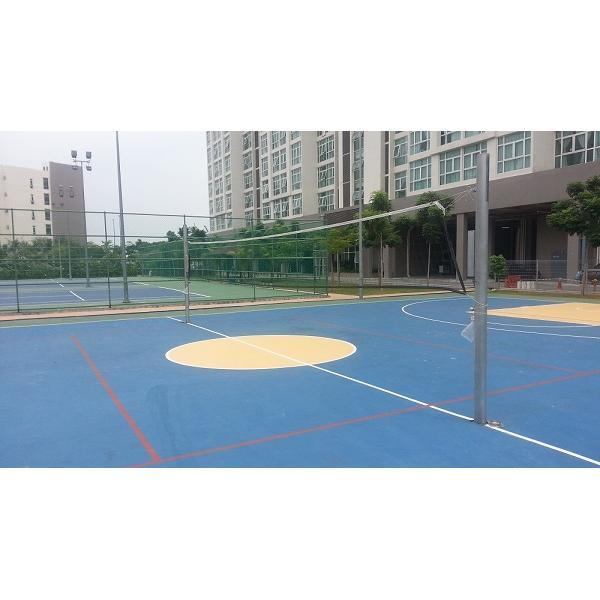 Aluminium Volleyball Post Ground Socket System High Quality Compliant