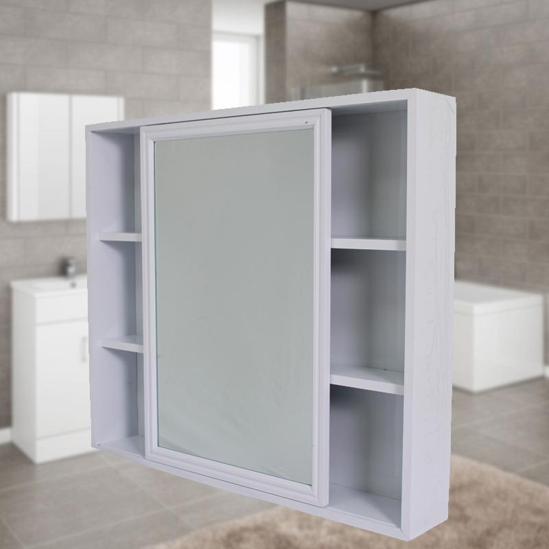 Aluminum Bathroom Mirror Cabinet Mi (end 12/6/2020 10:21 AM