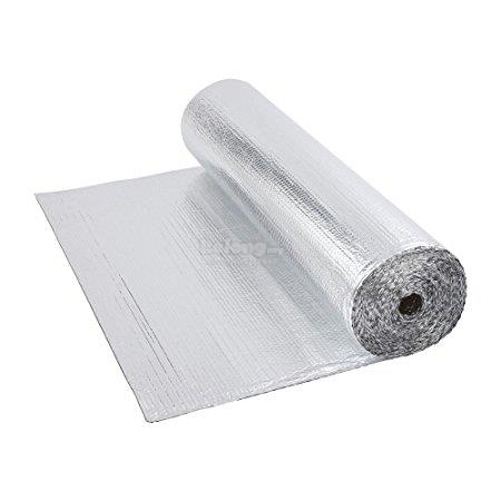 Aluminum foil 6 layer 1.22m x 45m promotion roofing heat insulation