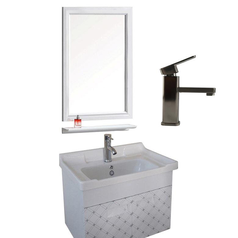 wholesale dealer 53a50 40f50 Aluminum Simple Bathroom Cabinets Vanity Sink Cabinet Bathroom