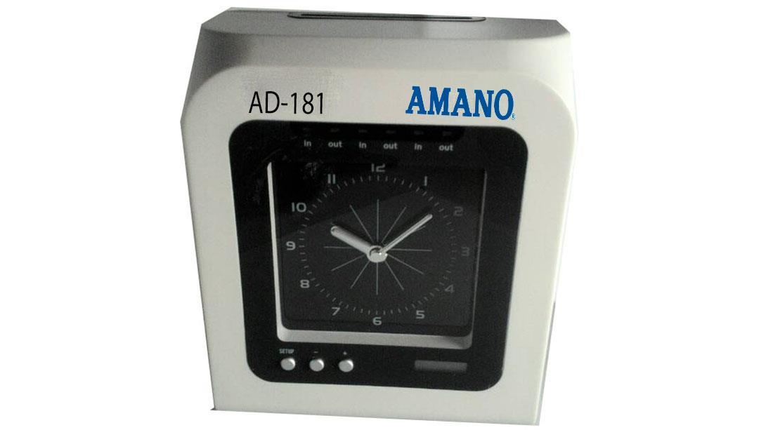 AMANO PUNCH CARD TIME ATTENDANCE MACHINE + 8 YEARS WARRANTY