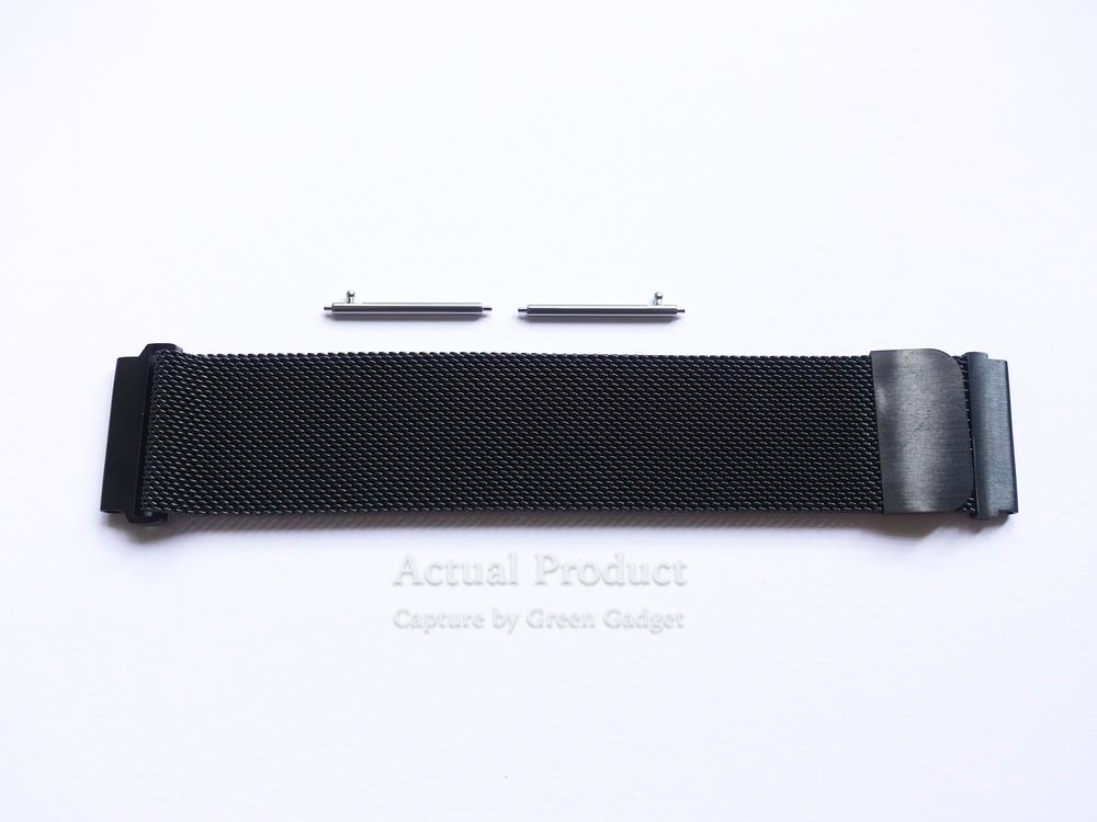Amazfit Stratos Milanese Loop / Metal Strap (Black)