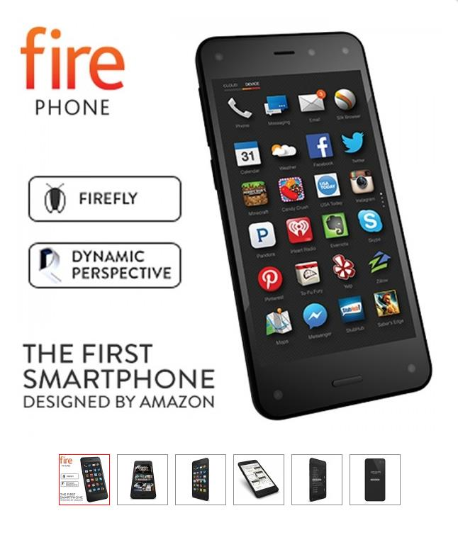 Amazon 3D Fire Smartphone (32GB) Like new! Offer