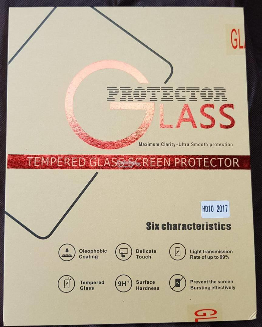 Amazon Fire HD 10 Flipcase and Tampered Glass Screen Protector