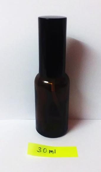Amber Glass Spray Bottle, DIY Mist Spray (30ml)